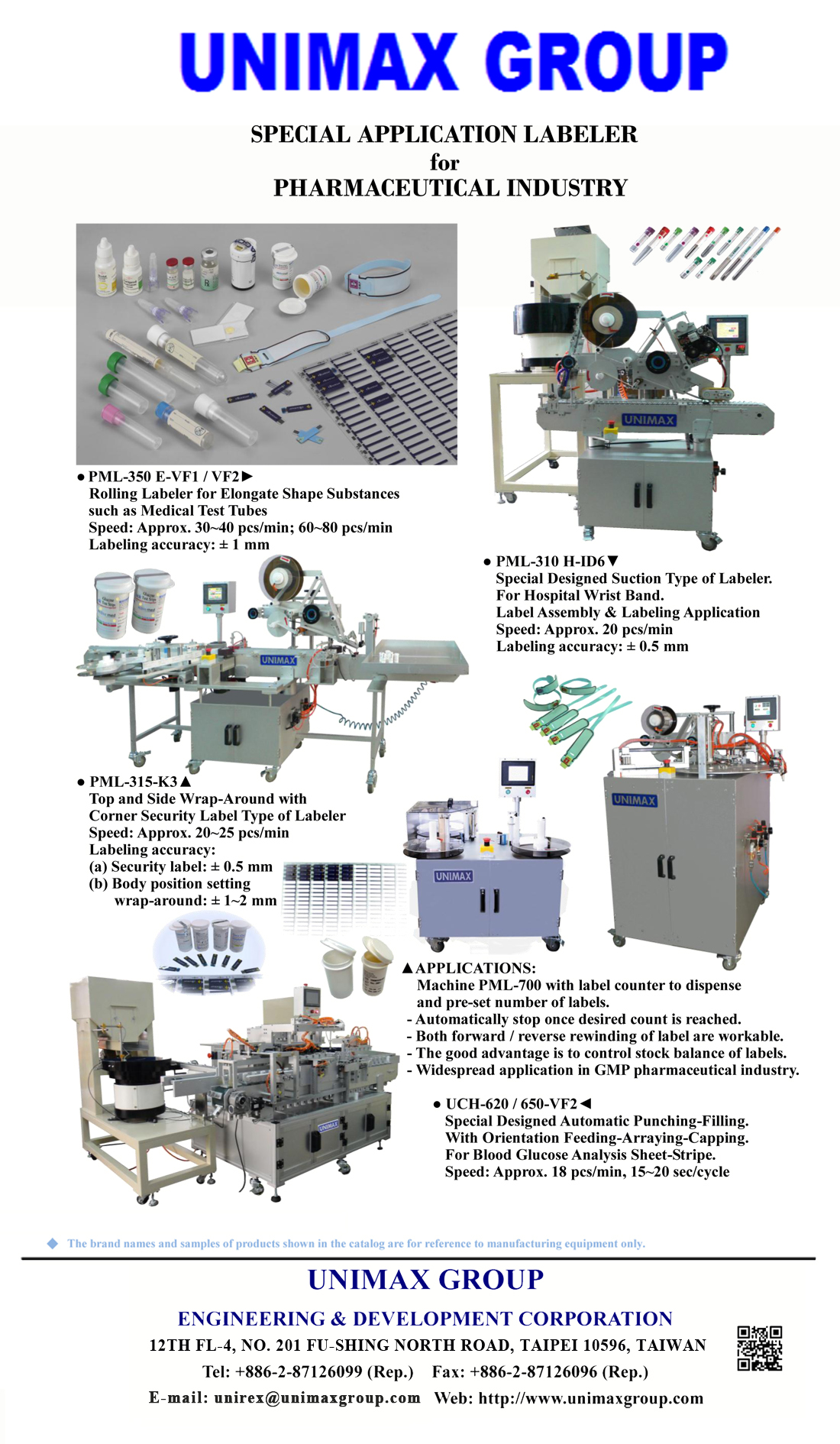 Pharmaceutical Industrial Products Labeling Machine