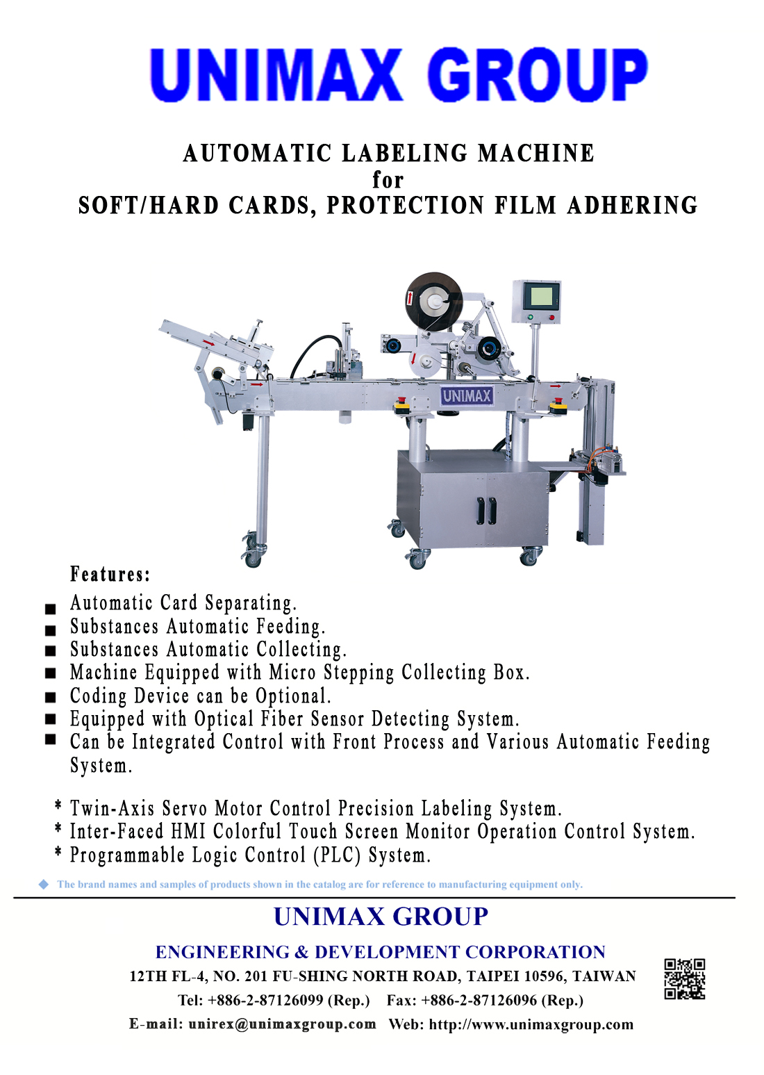 High-Tech Products Labeling / Protection Film Adhering Machine 310A Suitable for Soft and Hard Cards