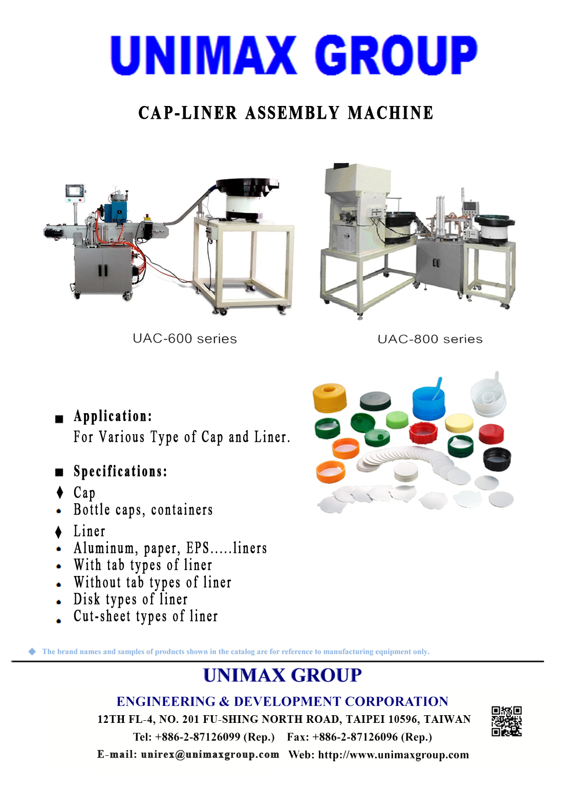 Cap-Liner Assembly Machine