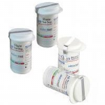 Glucose Test Strips Vial Wrap-Around with Tamper Proof Label Top & Corner Labeling Machine